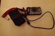 Kamera + Ladegerät + Tasche
