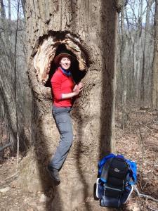 Veronika im Baum