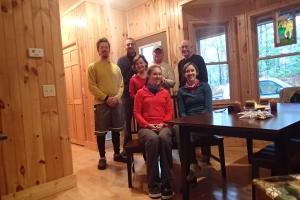 Gruppenfoto mit Trail Angels